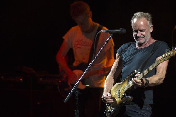 Sting au Festival  Starlite Music à Marbella le 23 juillet 2019.