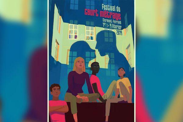 L'affiche du Festival du court métrage 2019 a été réalisée par le cinéaste d'animation Rémi Chayé.
