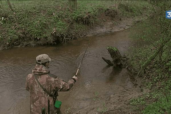 La saison de la pêche à la truite est ouverte