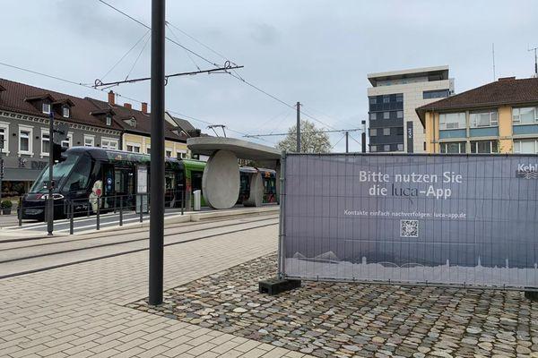 Le tram n'a pas arrêté de fonctionner entre Kehl et Strasbourg depuis juin 2020, même s'il est souvent presque vide ces temps-ci.