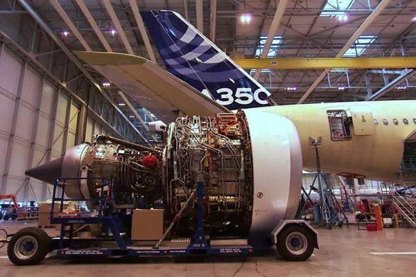 Le site Stelia Aerospace de Méaulte est spécialisé dans la fabrication des pointes avant d'avions Airbus