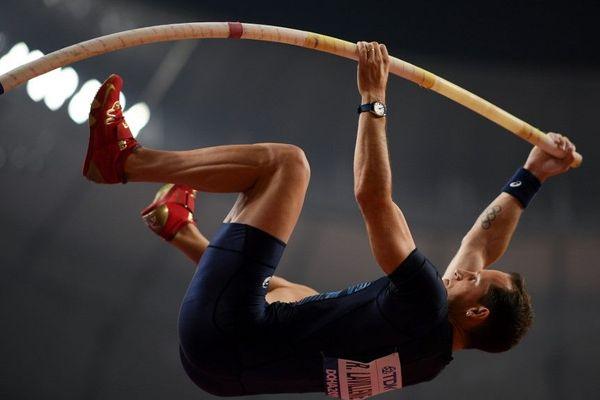Renaud Lavillenie aux championnats du monde à Doha, le 28 septembre 2019. Photo d'archives.