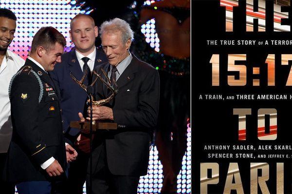 Clin Eastwood avait remis une récompense aux trois héros américains du Thalys en 2015