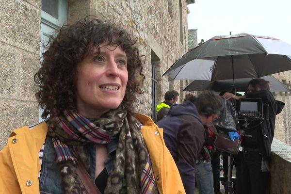"""Maire-Hélène Copti, réalisatrice de """"Meurtre au Mont-Saint-Michel"""""""