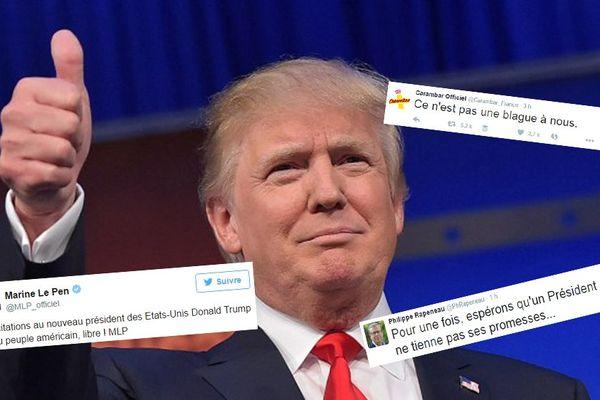 Donald Trump à Cleveland ce mercredi. Une élection qui suscite de très nombreuses réactions.
