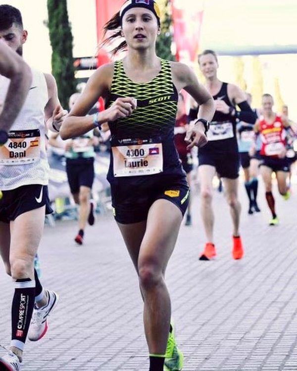En 2019, Laurie Phaï dispute son premier marathon à Valence en Espagne. Elle termine en 3h10' et pense avoir encore une belle marge de progression.