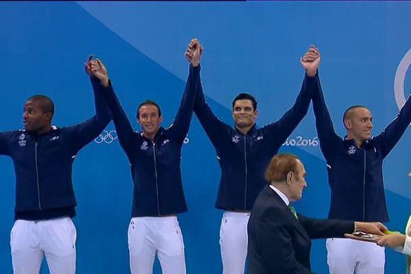 Jérémy Stravius est le seul athlète picard à avoir remporté une médaille.