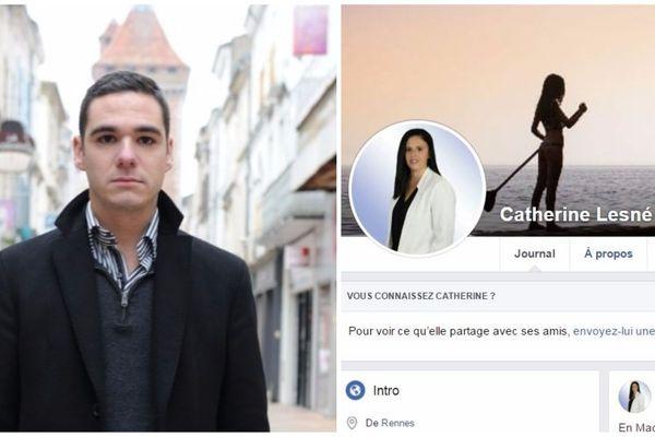 Etienne Bousquet Cassagne a annoncé via Twitter l'éviction de Catherine Lesné du parti