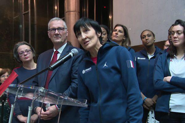 Valérie Garnier et beaucoup de joueuses de l'équipe de France de basket connaissent la salle du Prado par coeur.