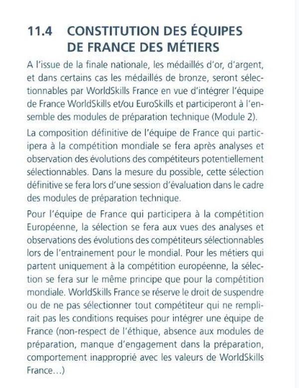 La sélection des équipes de France se fait désormais en deux temps, entre les compétitions en public, et une phase de préparation qui sert de second test.