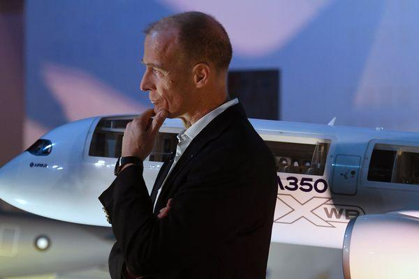 """Le patron d'Airbus, Tom Enders, a menacé de prendre des décisions """"douloureuses"""" alors que le groupe emploie plus de 14 000 personnes au Royaume-Uni."""