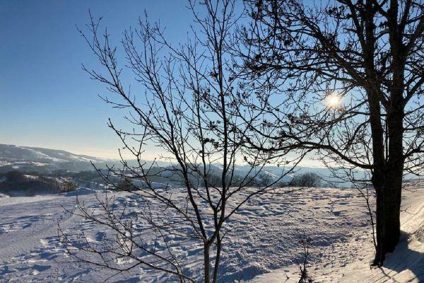 En Auvergne, un épisode de froid a eu lieu la nuit du 10 au 11 janvier, avec des températures descendues en-dessous de -14°C à Murat (Cantal).