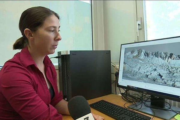 Fanny Brun s'est spécialisée dans l'étude des glaciers