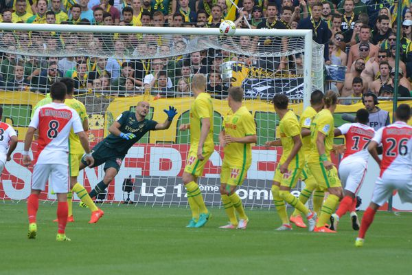 Ligue 1 : Nantes / Monaco (0/1) à la Beaujoire le 20 août 2016