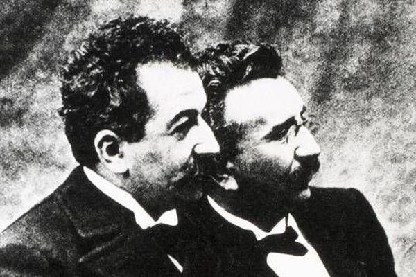 Louis et Auguste Lumière © Maxppp