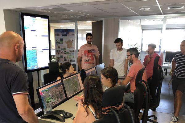 """Le centre opérationnel """"La vigie"""" de Predict veillera tout le week-end sur les phénomènes météorologiques locaux"""