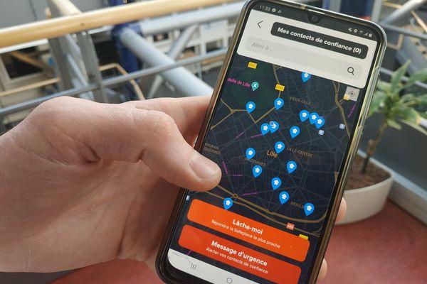L'application est maintenant disponible à Lille.