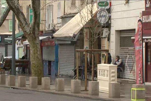 Les lieux du meurtre, avenue Camille Pelletan.