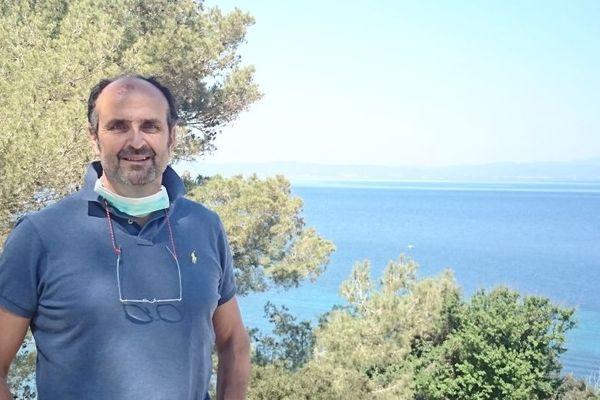 Philippe LENTZ, le médecin de l'île de Porquerolles