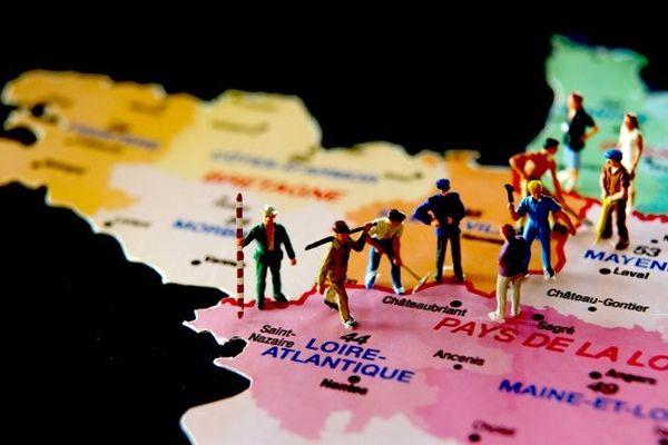 Redécoupage des régions, les Pays de la Loire toujours seuls, un rapprochement avec le Centre pourrait-être envisagé à terme
