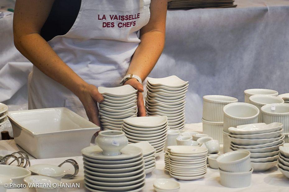 """Bas-Rhin : """"La Vaisselle des Chefs"""", vente grand public de vaisselle de restaurateurs, est de retour à Gerstheim"""