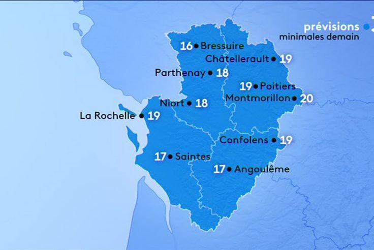 Meteo En Poitou Charentes De La Pluie Le Matin Et Des Eclaircies Dans L Apres Midi Pour Ce Lundi 1er Juillet