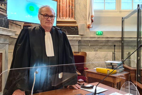 Le procureur de la République Marc Marie, aux assises de Pau samedi 28 novembre.