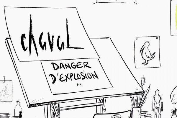 Chaval, danger d'explosion, le documentaire qui raconte le dessinateur
