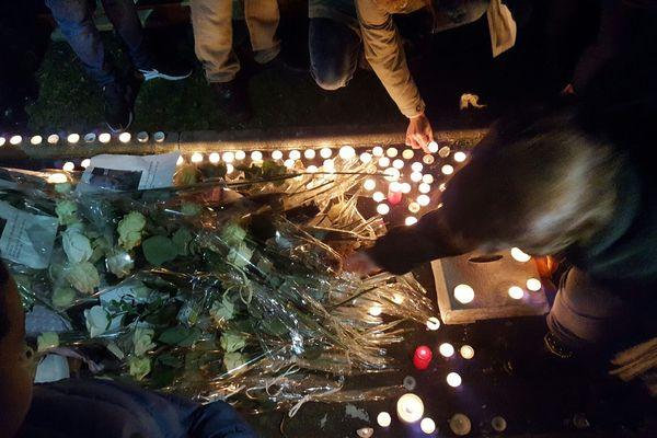 A Reims, l'émotion est immense et plusieurs marches blanches avaient été organisées en mémoire de Tony.