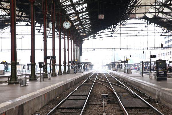 Trafic perturbé lors de la grève SNCF (illustration).