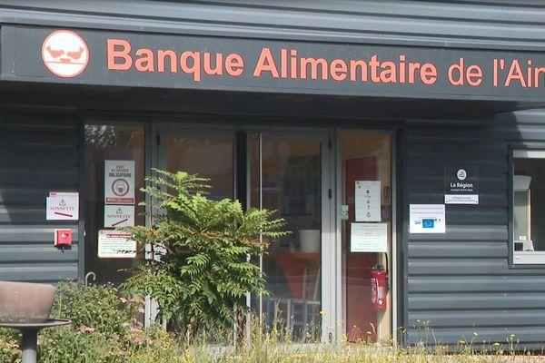 La banque alimentaire de l'Ain va bénéficier de denrées alimentaires produites dans le département.