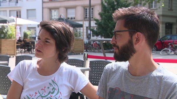 Le binome Fleur Laronze PCF, et Damien Fremon EELV, l'ont emporté d'une courte tête devant les candidats socialistes dans le canton de Strasbourg 3
