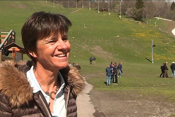 Pérrine Pelen, directrice générale du comité d'organisation des mondiaux 2023