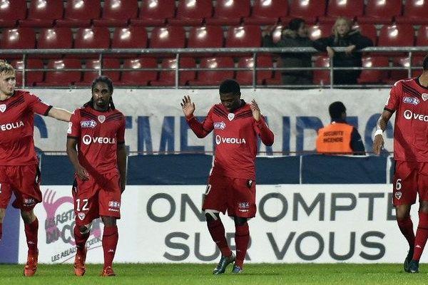 DFCO / REIMS, Coupe de la Ligue, le 28 octobre 2015, à Gaston Gérard.