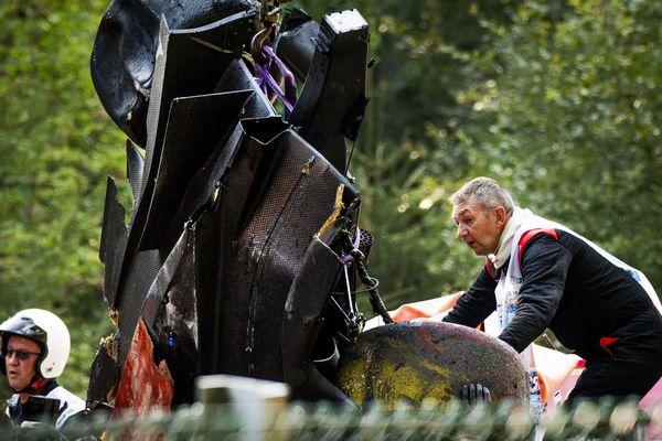 Trois pilotes dont le Français Antoine Hubert ont été victimes d'un grave accident à Spa (Belgique).