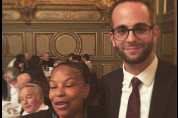 La ministre de la Justice était à Dijon jeudi 22 octobre 2015. Elle a participé à un dîner organisé à la mairie.