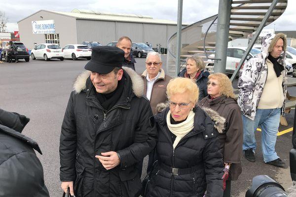 Le frère de Stéphane Dieterich, Sylvain et sa maman attendent ce procès depuis 24 ans.