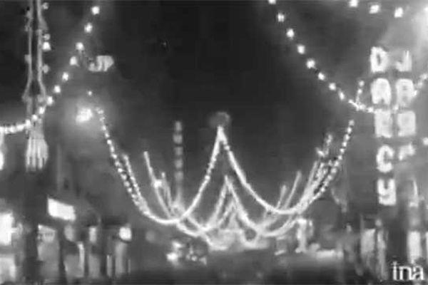 Fête des lumières 1962