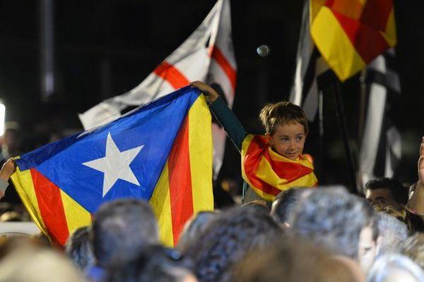 Réactions à Barcelone après le vote du 27 septembre