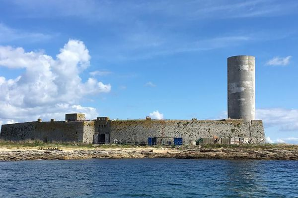 Fort Cigogne en pleine restauration