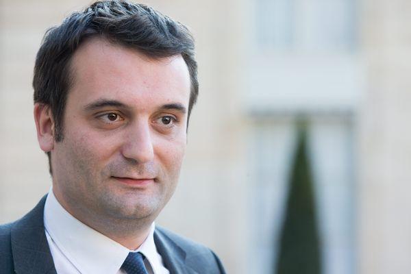 Florian PHILIPPOT, président du parti Les Patriotes et député européen