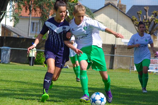 La première édition de la Femin'Cup à Couëron en Loire-Atlantique