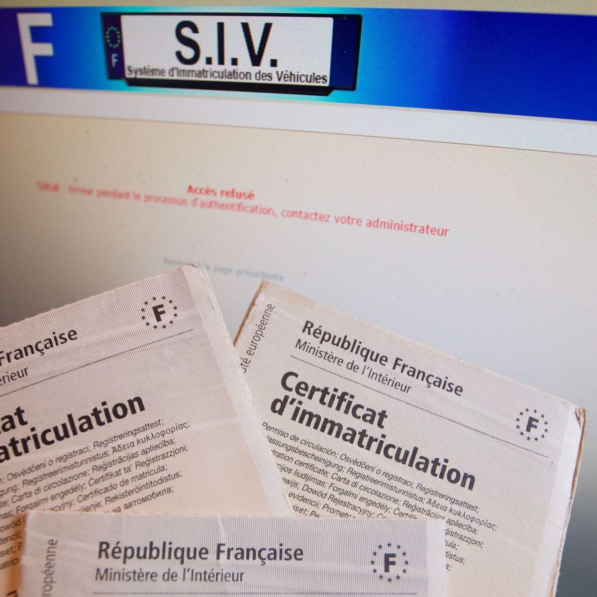 Carte Grise Les Demandes D Immatriculation Toujours Au Ralenti
