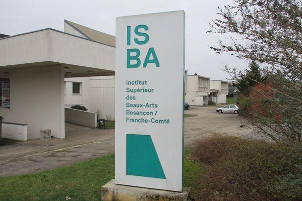 Institut supérieur des beaux-arts de Besançon Franche-Comté.