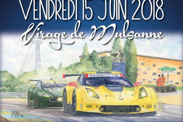 Corvette est à l'honneur de cette 7ème édition du virage de Mulsanne.