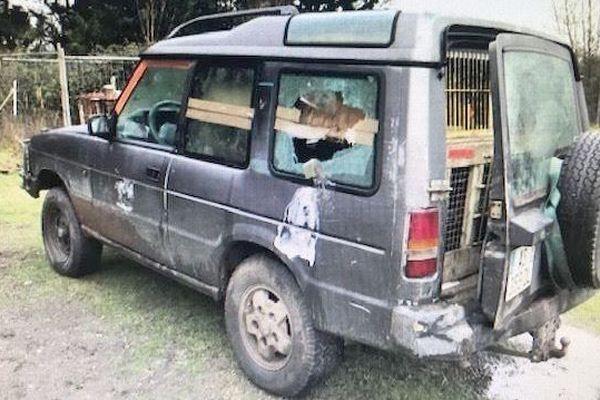 L'un des véhicules volé par le multi récidiviste