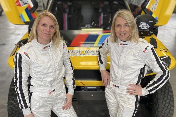 Marie Marconnot et Fanny Jacquot vont s'élancer sur les pistes du rallye d'Andalousie