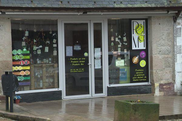L'épicerie de Meymac ne sera plus point relais colis à compter du 31 décembre.