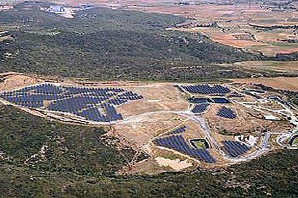 Simulation visuelle de la centrale solaire de Col de la Dona (Pyrénées-Orientales) - archives