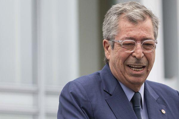 Patrick Balkany au Tribunal de Grande Instance de Paris pour le rendu du verdict de son procès pour fraude fiscale, le 13 septembre dernier.